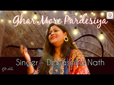 Ghar More Pardesiya cover - Kalank by Debasmita