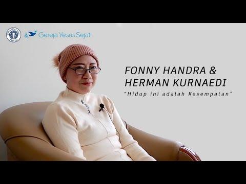 Haleluya! Video ini adalah Bagian Terakhir dari kisah kesaksian sdri. Fonny Handra dan suami sdr. Herman Kurnaedi, namun bukan yang terakhir untuk kita bisa memuliakan Allah kita. Teladan mereka mengingatkan kita soal WAKTU yang berharga dan KESEMPATAN yang Allah