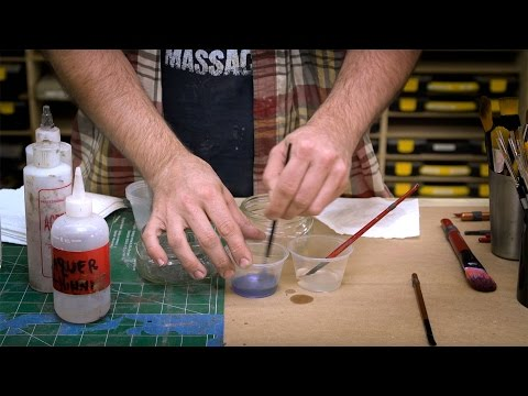 Clean Paint Brushes With The Right Solvents For The Paint You Use