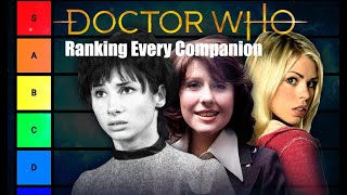 Doctor Who Ranking EVERY Companion (worst to best)