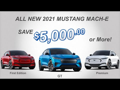 How to buy a Ford Mustang Mach-E - With a Discount