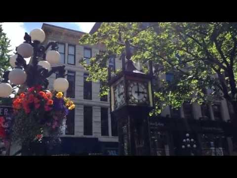 世界23秒の旅:スチームクロック, バンクーバー/ガスタウン