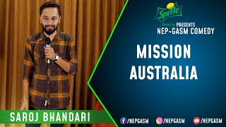 Mission Australia   Nepali Stand-Up Comedy   Saroj Bhandari   Nep-Gasm Comedy