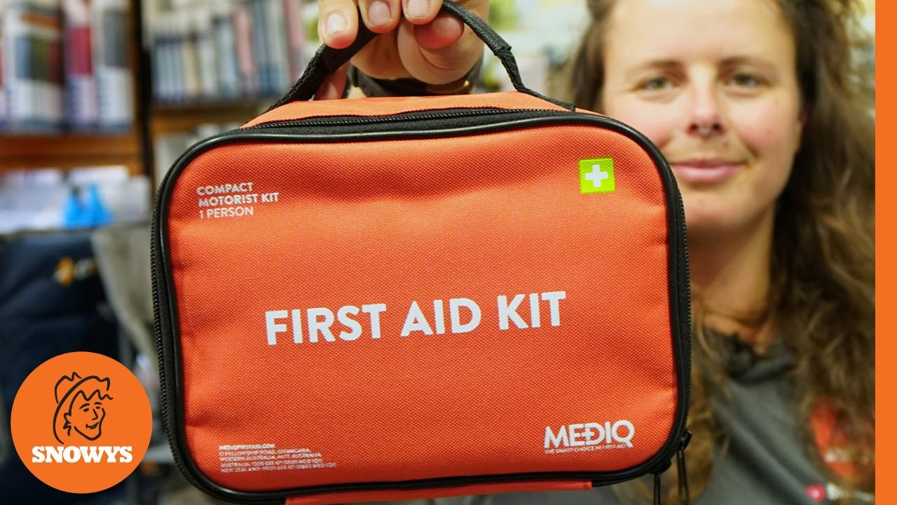 Compact Motorist First Aid Kit