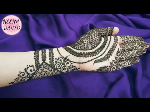 Download Eid Special Henna Design 2018 4 Heena Vahid In Full Hd