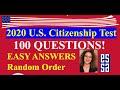 2020 U.S. CITIZENSHIP QUESTIONS