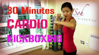 30 Minutes Cardio Kickboxing (Burn 300 Calories!) by Joanna Soh Official