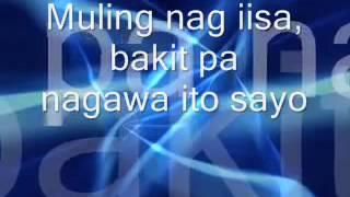 Bakit Pa Ba by Jay R