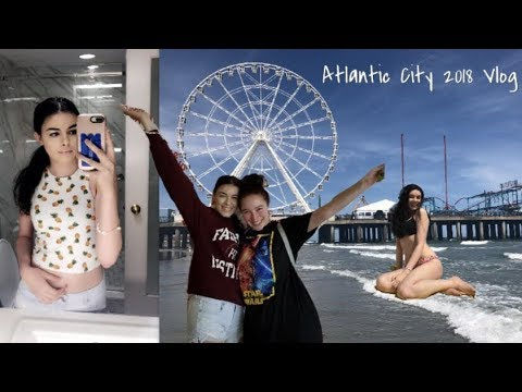Travel Vlog  : Atlantic City