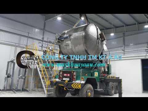 Bồn khuấy hóa chất công nghiệp lh 0934535949 Á Âu