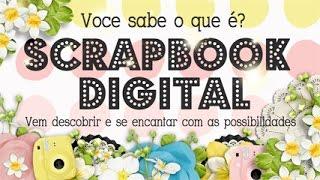 O Que é Scrapbook Digital? Como Comprar Scrapbook Digital? Scrapbook By Tamy