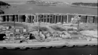 R.E. IV : Construction du barrage 1965