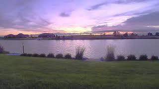 October 4 on Sunset Lakes in Manhattan, Illinois