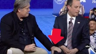 Steve Bannon and Reince Priebus