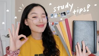 study tips from a college graduate ;) time management, note taking, motivation