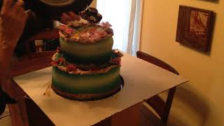 Mary Poppins magic cake 3
