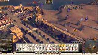 Rome 2 Alexandria port assault Seige Beta patch 9.0 with hot-fix