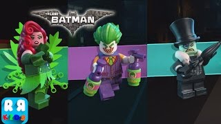 The LEGO Batman Movie Game - iOS / Android - Part 4 All Boss Fight Poison Ivy, Penguin and Joker