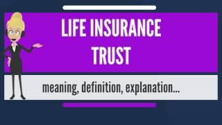 What is LIFE INSURANCE TRUST? What does LIFE INSURANCE TRUST mean? LIFE INSURANCE TRUST meaning