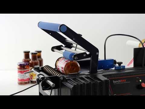 BenchMAX Fully-Automatic Labeling Machine Bottle labeler sold by Great Engineering