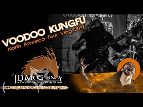 This is a vlog I put together after my tour with Voodoo Kungfu. Hands down, one of my favorite tours!