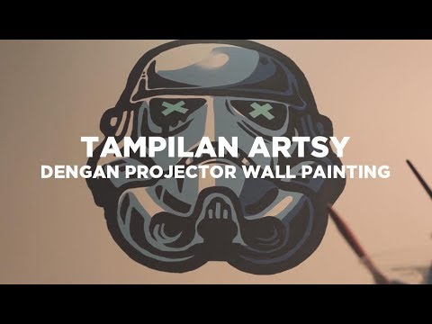 Cara Wallpainting Dengan Projector | Tips In Video #25 Mp3
