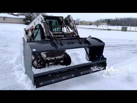 Snow Push Pull Back