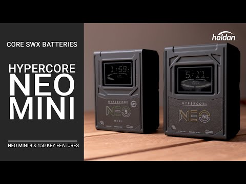 HyperCore NEO Mini Batteries By Core SWX | Neo Mini 150 & 9 14.8V V-Lock & Gold Mount Battery