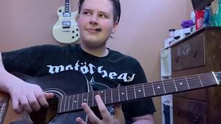 Nothing Else Matters - Metallica Acoustic Cover | JordanFianderMusic