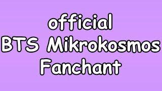 BTS Mikrokosmos Official Fanchant | Tae's Purple Nation