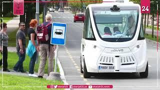 مدن البلطيق تختبر حافلات بدون سائق لتخفيف الازدحام المروري