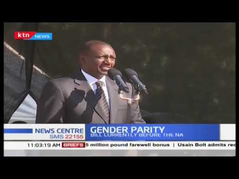We as men should be the last to stand in the way  of our wives or mothers says DP Ruto