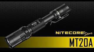 NITECORE MT20A 360 Lumen LED Multitask Pen-Style Flashlight for Everyday Carry EDC and Outdoor Use