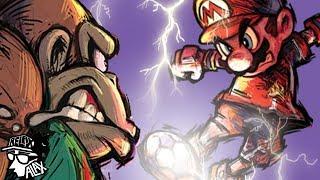 Mario Strikers - The Most EPIC Mario Game! - dooclip.me