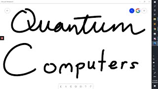 Online Lecture 1: Quantum Computers
