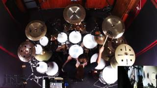 HATEOFFICIAL releases second drum playthrough heres Into Burning Gehenna for all you