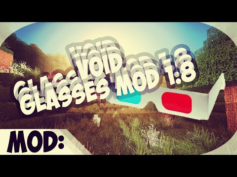 Void Glasses Mod - Minecraft en 3D - 1.8