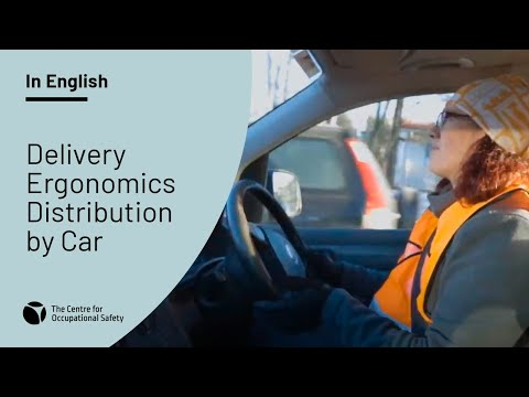 Delivery Ergonomics Distribution by Car - YouTube