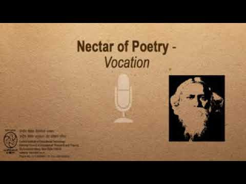 Rabindranath Tagore Vocation.