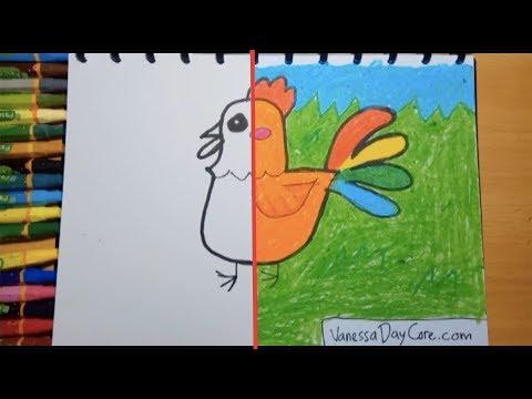 Menggambar Mewarnai Ayam Dan Anak Ayam Kaskus