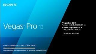 Descargar Editor de Videos Sony Vegas Pro 13 full español