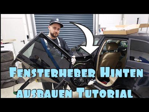 Audi A3 8p 8pa Sportback Fensterheber Hinten wechseln / ausbauen / rear door window replacement