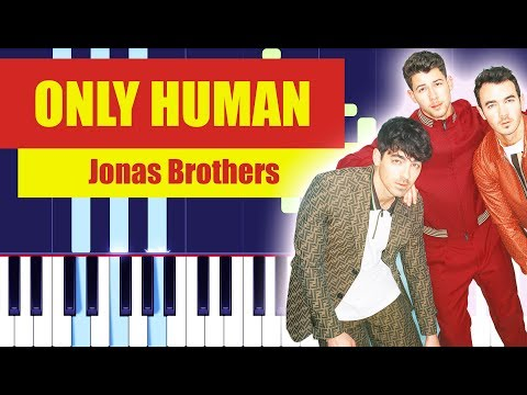 Jonas Brothers - Only Human (Piano Tutorial EASY) By MUSICHELP