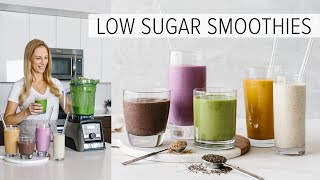 5 LOW SUGAR SMOOTHIES | healthy smoothies to power your day