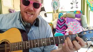 shut up - Greyson Chance // easy guitar tutorial beginner lesson