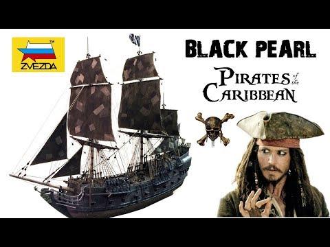 """""""BLACK PEARL"""" Ship Model Kit by ZVEZDA scale 1/72 + Modifications"""