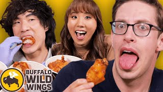 Keith's 100 SPICY Wing Challenge ft. The Food Babies
