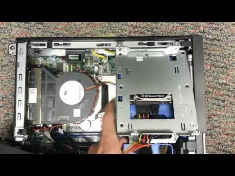 Disassembling a Dell Optiplex 990