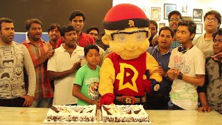 Mighty Raju saves a Little Fan on his Birthday and Celebrates with him