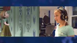 """""""Voices of Young Elsa & Anna"""" Clip - The Story of Frozen: Making a Disney Animated Classic"""